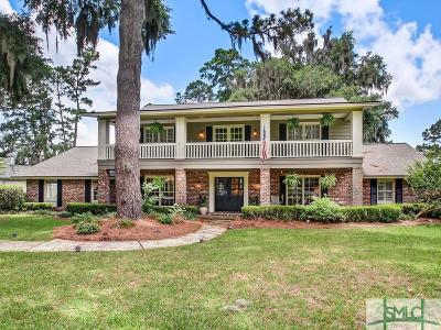 Savannah Single Family Home For Sale: 1505 Cedar Grove Plantation Drive