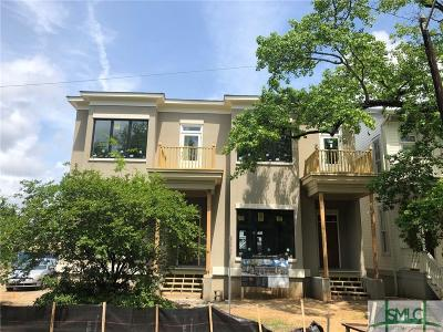 Savannah Condo/Townhouse For Sale: 312 W Gwinnnett Street