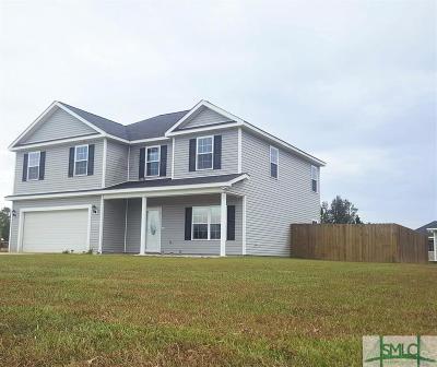 Ludowici Single Family Home For Sale: 191 Madison Avenue NE
