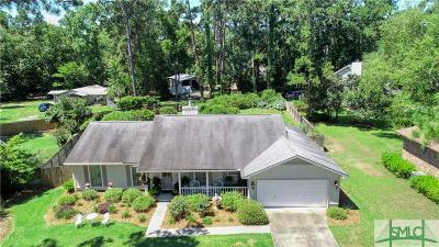 Savannah Single Family Home For Sale: 3 Talahi Drive