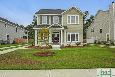 Savannah Single Family Home For Sale: 123 Bluffside Circle