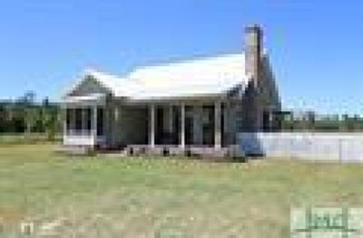 Brooklet Single Family Home For Sale: 2647 Stilson Leefield Road