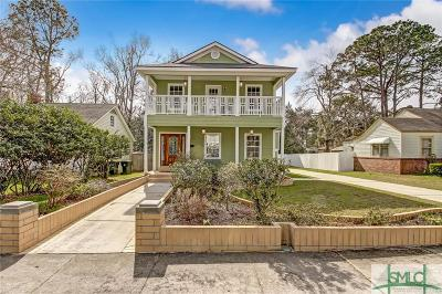 Savannah Single Family Home For Sale: 1611 E 51st Street