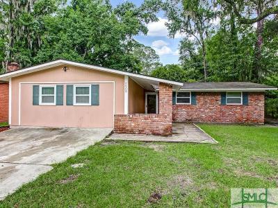 Savannah Single Family Home For Sale: 5908 Fairview Avenue