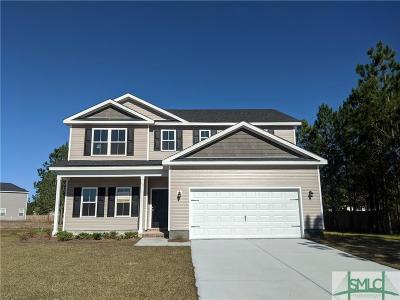 Ellabell Single Family Home For Sale: 35 Saddlebrush Road
