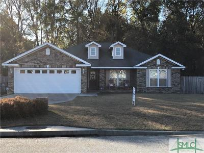 Ludowici Single Family Home For Sale: 22 NE Conner Drive