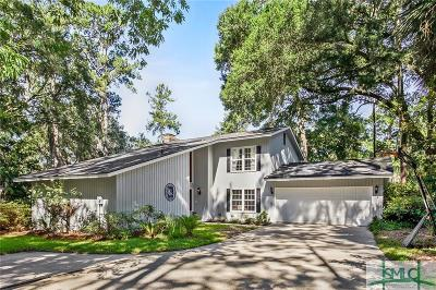Savannah Single Family Home For Sale: 6 Wesley Crossing