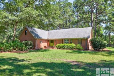 Rincon Single Family Home For Sale: 198 Palmetto Drive