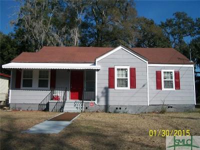Savannah Single Family Home For Sale: 228 W 73 Street