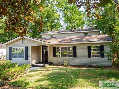 Savannah Single Family Home For Sale: 1941 Vassar Street