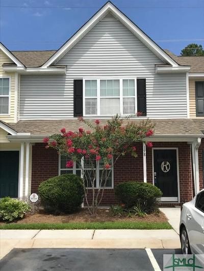 Pooler Condo/Townhouse For Sale: 178 Sonata Circle #178