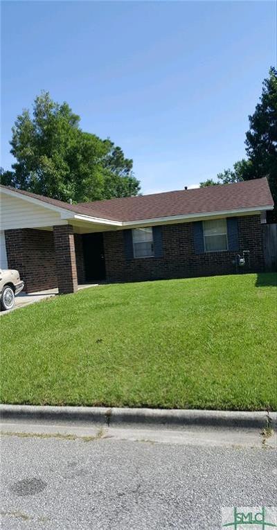 Savannah Single Family Home For Sale: 201 Tech Drive