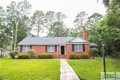 Savannah Single Family Home For Sale: 15 E 64th Street