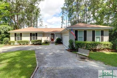 Wilmington Island Single Family Home For Sale: 6810 Sandnettles Drive