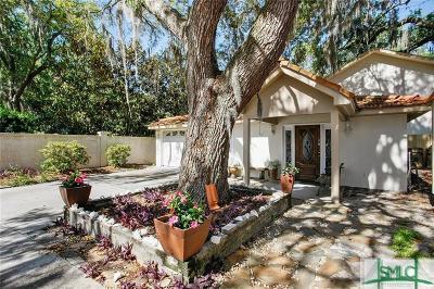 Wilmington Island Single Family Home For Sale: 1214 Wilmington Island Road