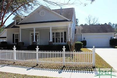 Savannah Single Family Home For Sale: 170 Cherryfield Lane