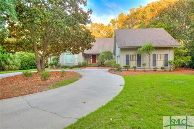 Savannah Single Family Home For Sale: 14 Delegal Road