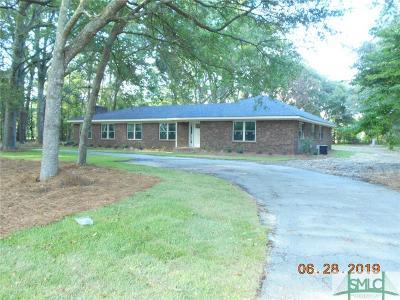 Guyton Single Family Home For Sale: 281 Noel C. Conaway Road