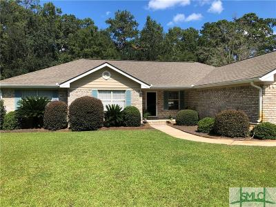 Hinesville Single Family Home For Sale: 863 Flora Ellen Street