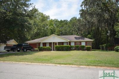 Pooler Single Family Home For Sale: 11 Tammy's Circle
