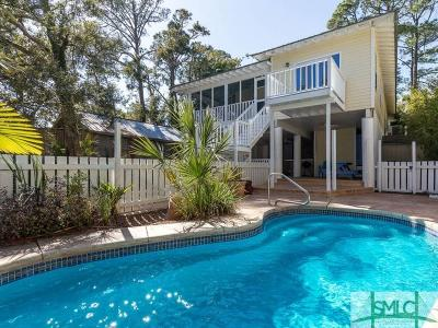 Tybee Island Single Family Home For Sale: 148 S Campbell Street