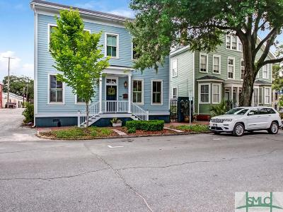 Savannah Single Family Home For Sale: 212 Houston Street