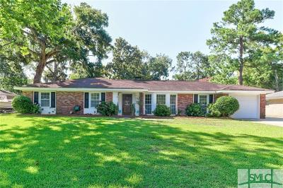 Wilmington Island Single Family Home For Sale: 119 Stafford Road