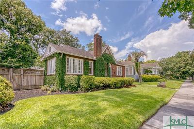 Savannah Single Family Home For Sale: 125 E 48th Street