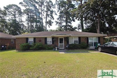 Wilmington Island Single Family Home For Sale: 117 Wassaw Road