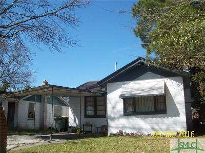 Savannah Single Family Home Active Contingent: 1005 Porter Street