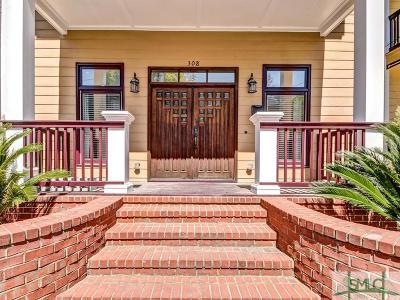 Savannah Single Family Home For Sale: 308 E 33rd Street