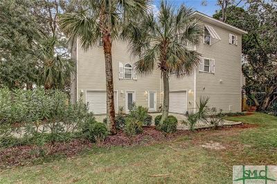 Tybee Island Multi Family Home For Sale: 6 Brewers Landing #B