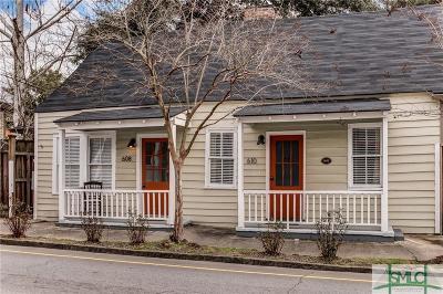 Savannah Multi Family Home For Sale: 610 Price Street