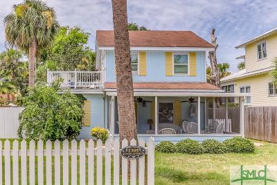 Tybee Island Single Family Home For Sale: 1305 Jones Avenue