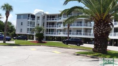 Tybee Island Condo/Townhouse For Sale: 1217 Bay Street #107C