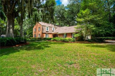 Savannah Single Family Home For Sale: 502 Old Mill Road