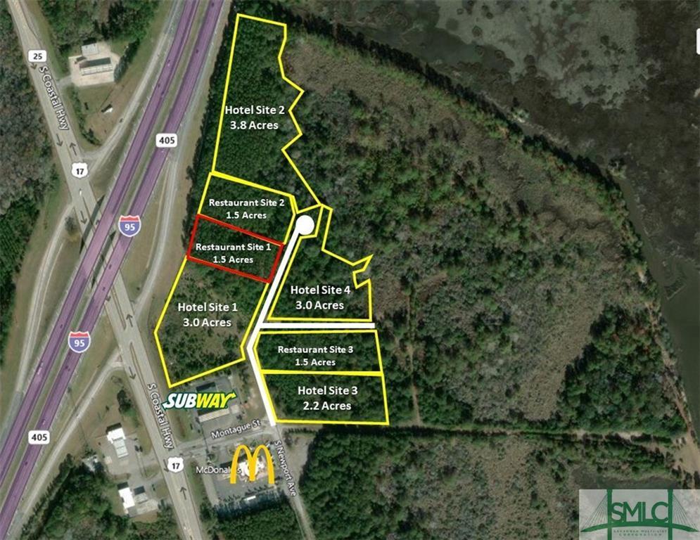Restaurant 1 South Newport, Riceboro, GA, 31323, Riceboro Home For Sale