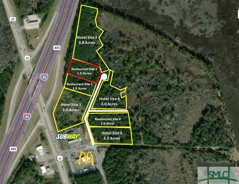 Restaurant 2 South Newport, Riceboro, GA, 31323, Riceboro Home For Sale