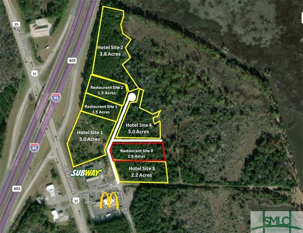Restaurant 3 South Newport, Riceboro, GA, 31323, Riceboro Home For Sale