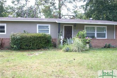 Savannah Single Family Home For Sale: 2617 Evergreen Avenue