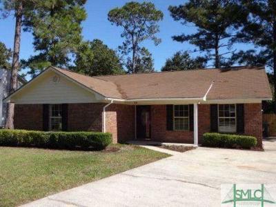 Hinesville Single Family Home For Sale: 716 Dover Lane