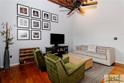 Savannah Condo/Townhouse For Sale: 411 W Congress Street #5