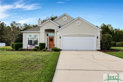Pooler Single Family Home For Sale: 5 Old Bridge Drive