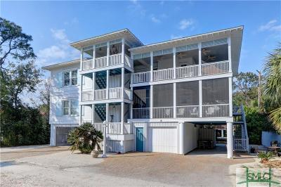 Tybee Island Multi Family Home For Sale: 8 6th Place