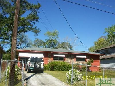 Savannah GA Single Family Home For Sale: $259,000