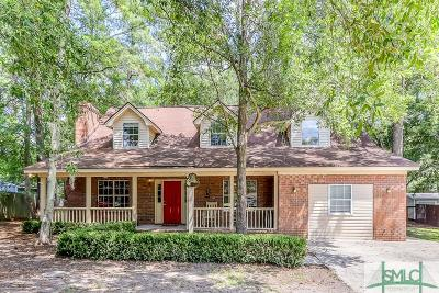 Pooler Single Family Home For Sale: 516 Heritage Court