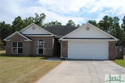 Ellabell Single Family Home For Sale: 45 Farmers Circle