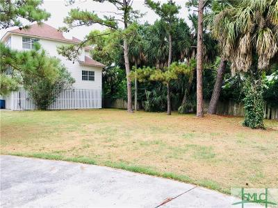 Tybee Island Single Family Home For Sale: 1619 B & D Chatham Avenue
