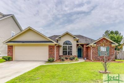 Pooler Single Family Home For Sale: 202 Pine Forest Lane