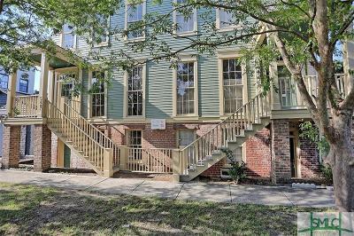 Savannah Condo/Townhouse For Sale: 548 E McDonough Street